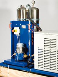 Diedron | Nebenstromfilter inkl. Kühlung Diedron Verso 2/4 | Filter für Kühlschmierstoff, Schneidöl, Kühlwasser