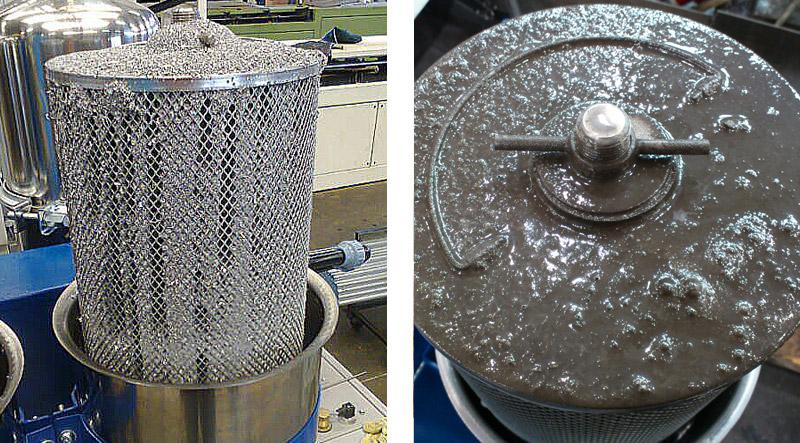 Diedron Filtertechnik, Ergebnisse bei der Filtration von Kühlschmierstoff