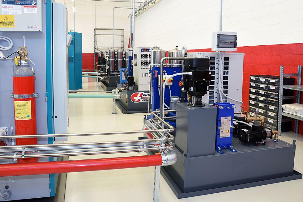 Diedron Filteranlagen im Werkzeugschleifen