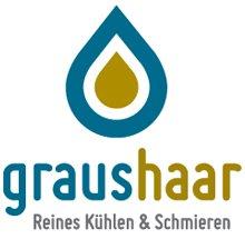 Logo Graushaar - Reines Kühlen und Schmieren - Ihr Spezialist für Kühlschmierstoffe, Filtertechnik und Ölskimmer