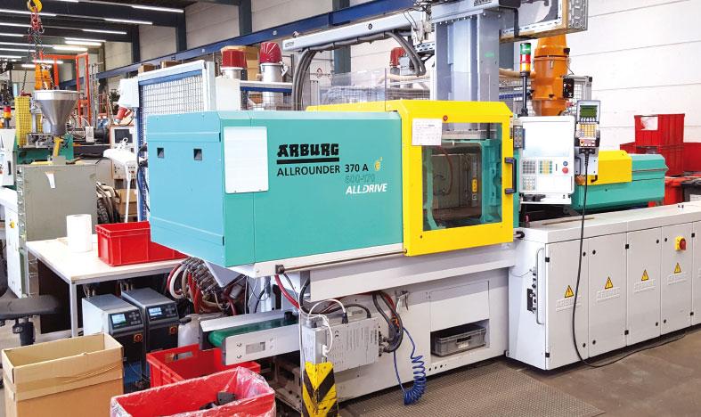Spritzgussproduktion, Maschinen von Arburg