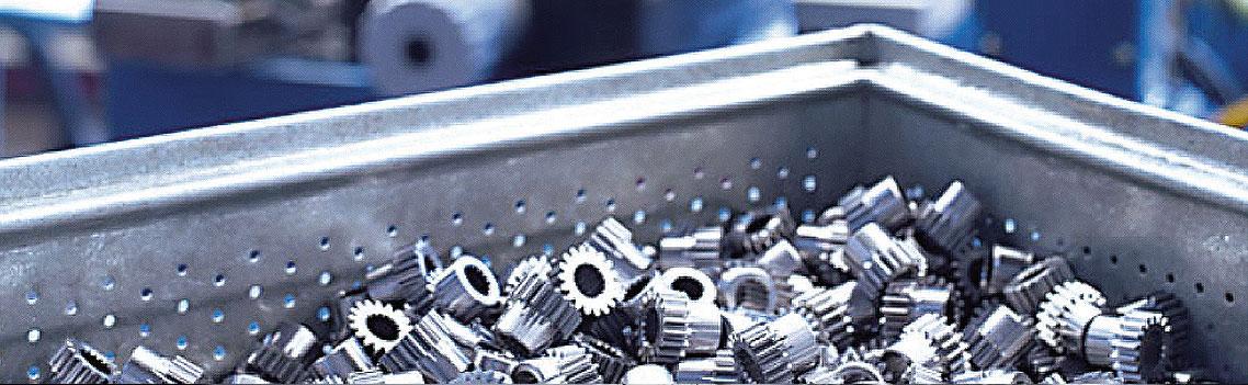 Werkstücke Schleifen, gefertigt mit Master Fluid Solutions TRIM E715