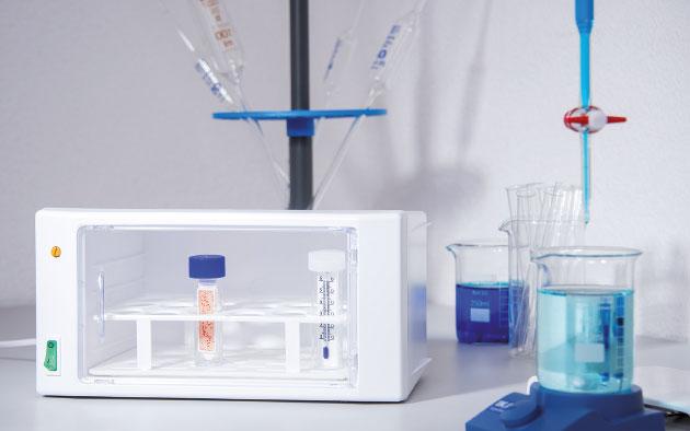 Graushaar GmbH | Detailaufnahme Labor | Bakterienbestimmung