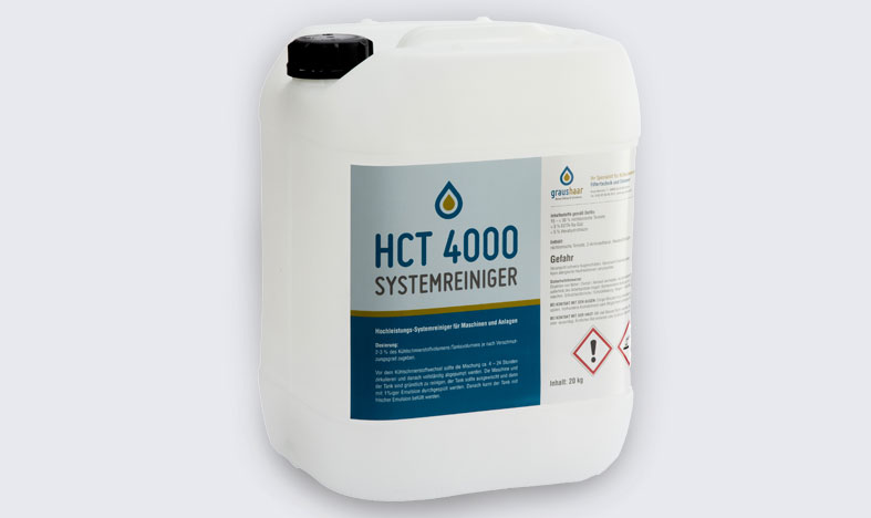Graushaar GmbH | HCT 4000 - Systemreiniger für Kühlschmierstofftanks