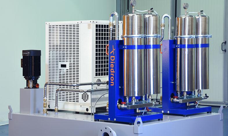 KSS-Filter im Nebenstrom betreiben