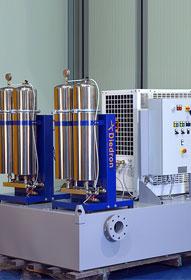 Diedron | Komplettanlage inkl. Filtration, Kühlung und 900 Liter Tank